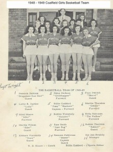 19-47 -1948 Girls Basketball Team 001