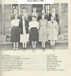 Arrow Staff in 1949 001 (1)