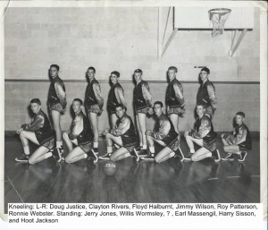 Basketball Team 1953-54 002