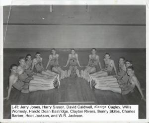 Basketball Team 1954-1955 002
