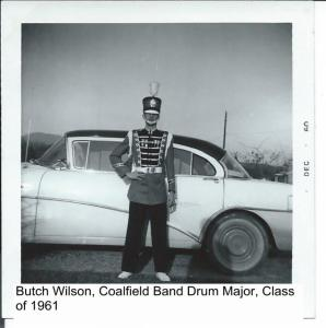Butch Wilson, Drum Major, Coalfield Band 001