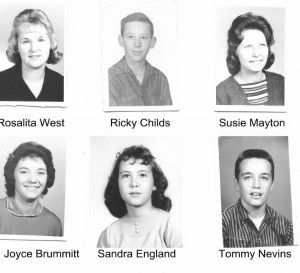 Class of 63 Yearbook page