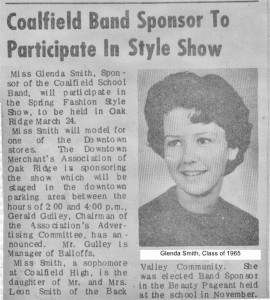 Coalfield Band 1965