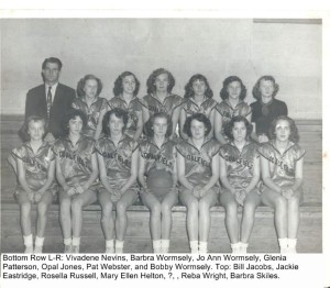 Coalfield Girls Basketball 1952-1953 Corrected002 (1)
