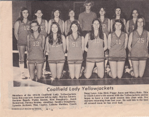 Girls' Basketball 1975-76 Good