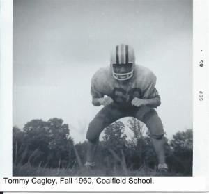 Tommy Cagley, Fall of 1960, Coalfield School 001