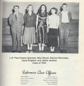 Class of 1952 Soph Officers 001
