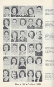 Class of 1953 as Freshmen (1950) 001