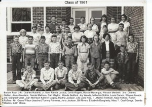Class of 1961 in 1956