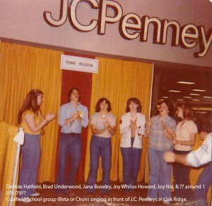 Class of 1980 choir